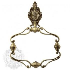 Полотенцедержатель кольцо Migliore Elisabetta, ML.ELB-60108BR, цвет: бронза ➦