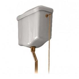 Механизм смыва к высокому бачку Kerasan 754691 золото