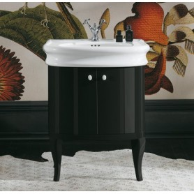 Мебель для ванной Simas Lante LAM70 (цвет черный глянец) ➦ Vanna-retro.ru