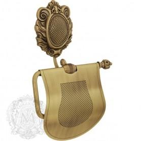 Бумагодержатель Migliore Cleopatra, ML.CLE-60706BR, цвет: бронза ➦ Vanna-retro.ru